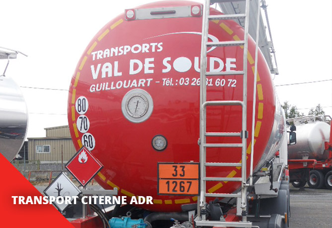 Transport citerne ADR