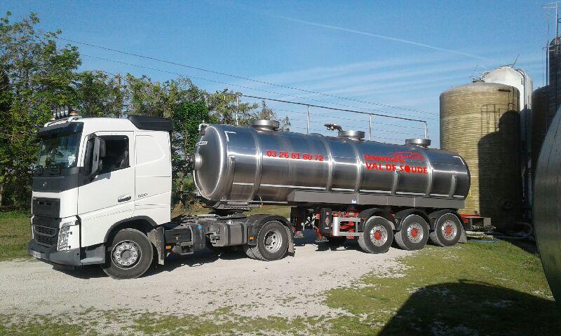 TRANSPORT liquides alimentaire
